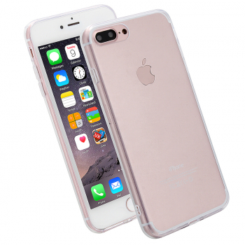 iPhone Cover Slim Clear Acrylic Phone Case for iPhone 7/8 Plus - Transparent