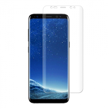 PET Soft Flexible TPU Film Full Coverage Screen Protector for Samsung S8 Plus