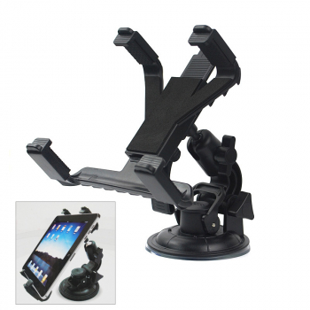 Adjustable 360 Degree Rotation Universal Car Holder for Pad, GPS, Ebook