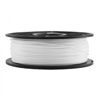 Smooth Surface 3D Printer Filament PLA 1.75mm 1KG - White
