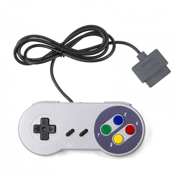 Replacement Controller for Super Nintendo Entertainment System SNES Wii Gamepad - Colored
