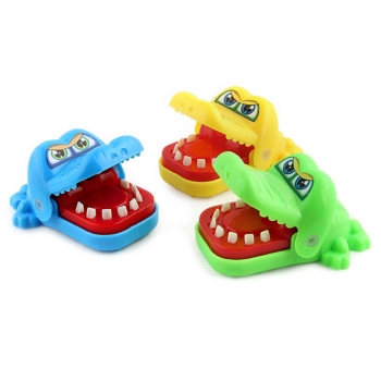 Crocodile Mouth Bite Finger Game Funny Family product Gift Random Color