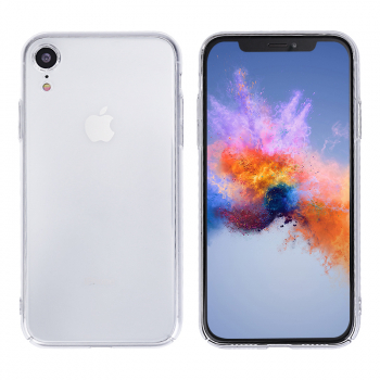 Transparent Hard PC Case Clear Bumper Phone Case Cover for iPhone XR