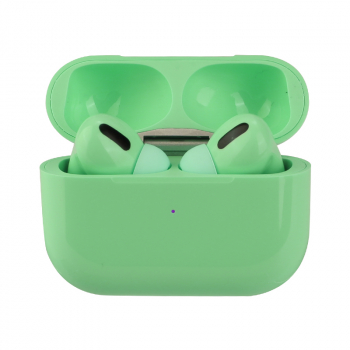 Macaron Air Pro Wireless Headphones Bluetooth 5.0 Touch Control In-ear Earphones - Green