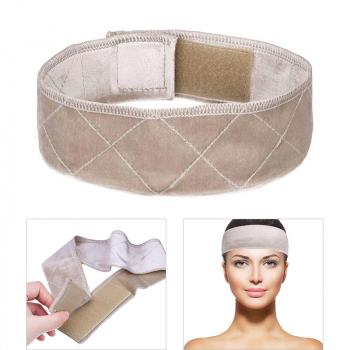 No-slip Comfort Velvet Adjustable Wig Grip Band - Beige