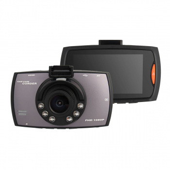 1080P Car Tachograph DVR Car Dashboard Camcorder Camera Built-in Battery