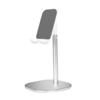 Universal Tablet Stand Holder Mobile Phone Desk Mount for iPhone iPad Samsung - Silver