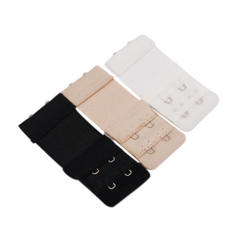 3pcs Bra Extender 2x2 Hooks Ladies Bra Extension Strap Underwear Strapless