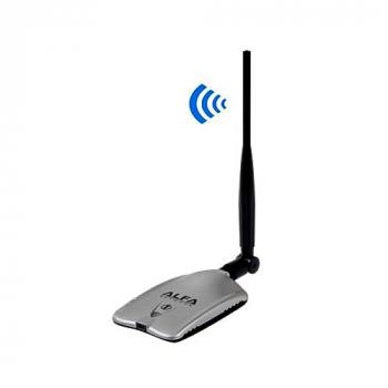 10000G 2.4GHz 2000mW 802.11b/g 54Mbps USB 2.0 Wireless WiFi WLAN Network Adapter - Silver
