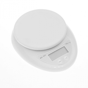 "1.7"" LCD Digital Kitchen Scale (5kg Max/1g Resolution)"