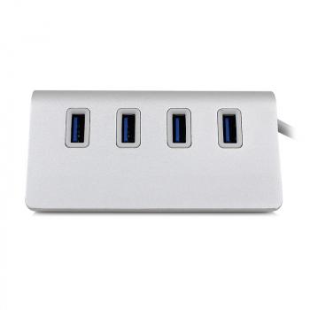 4 Ports Super High Speed USB 3.0 Hub Mini Splitter