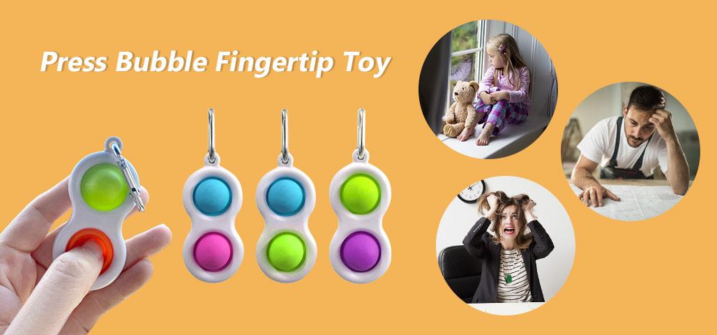 Press Bubble Fingertip Toy