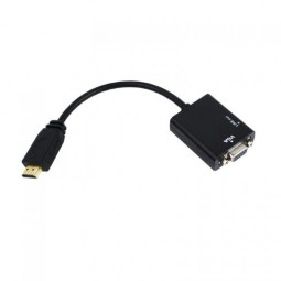 Golden-plated HDMI TO VGA+AUDIO Cable