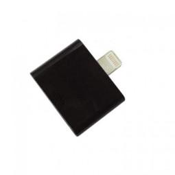 For Apple 30 Pin to 8pin Adapter iPhone 5G iPad Mini iPod Nano- Black