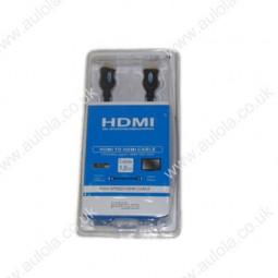 1.8M HDMI to HDMI A/V Cable- Black