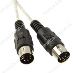 1 In + 1 Out MIDI Interface To USB Interface Cable Adapter