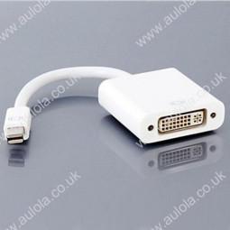 Mini DisplayPort Male to DVI Female Converter Adapter Cable for Macbook