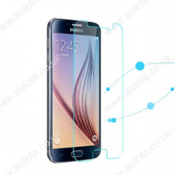 Clear Tempered Glass Protector Straight Edge for Samsung Galaxy S6