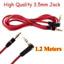 1.2m High Quality 3.5mm Audio Stereo Connecting Cable Male to Male