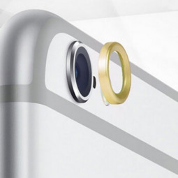 """Moblie Rear Camera Lens Protective Ring for iPhone 6 4.7"""" - Golden"""