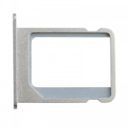 Micro SIM Card Tray Holder Slot Replacement for Apple iPhone 4 4S - Silver