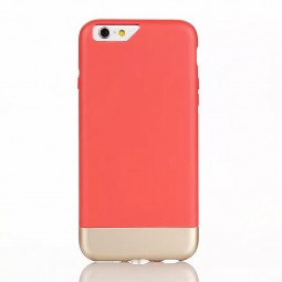Two Duo Parts Back Case for iPhone 6 6S - Red