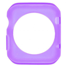 TPU Protective Case for Apple Watch 42mm - Purple