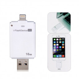 16GB 8pin Flash Driver with OTG Function for iPhone 5/6 iPod iPad