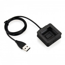 USB Charging Data Cable Cradle Dock Charger Cord For Smart Watch Fitbit Blaze