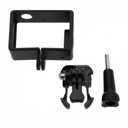 Camera Frame Housing Protective Mount Case with Screw and Camera Base for GoPro Hero 3+4