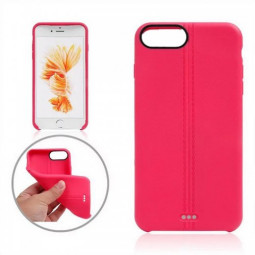 TPU Protective Phone Back Cover Case for iPhone 7 - Rose Red