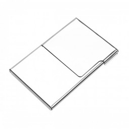 Mens Stainless Steel Pocket Business Name Credit ID Card Case Box Brieftasche