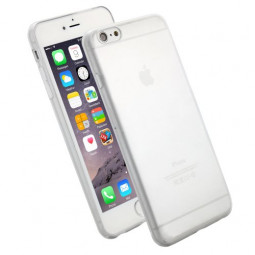 Full Cover Hard PC Cover Transparent Clear Back Case for 5.5 Inch iPhone 6 Plus