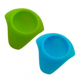 Silicon Egg Cup Serving Kitchen Boiled Eggs Cups Holders Random Color