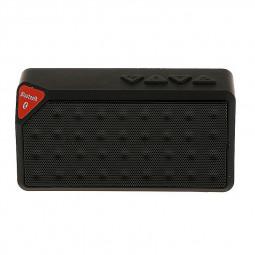 Water Cube Mini X3 Wireless Bluetooth Speaker for Laptop Cellphone - Black