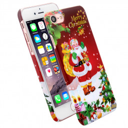 Christmas Hard PC Festive Xmas Night Phone Case Cover for iPhone 7