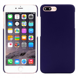 Multicolor Frosted Hard PC Protective Back Phone Case for iPhone 7 Plus - Dark Blue