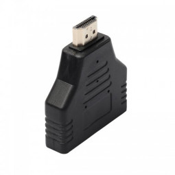 HDMI 1 Male Port in 2 Female Out Splitter Adapter Converter