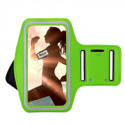 Sports Running Jogging Gym Armband Arm Band Case Cover Holder for iPhone 6 6S - Green