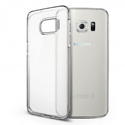 Slim Transparent TPU Case with Shockproof  Particles Corner for Samsung S7 Edge