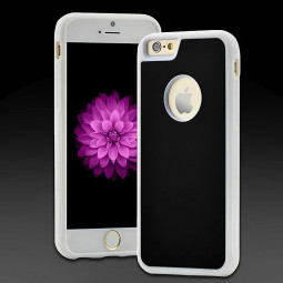 Anti-Gravity Selfie Magical Case Nano Sticky Cover For iPhone 6S - White