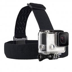 Adjustable Elastic Head Strap Belt Harness Mount for GoPro HERO 4/3+/3/2/1