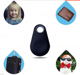 Smart Bluetooth Tracer GPS Locator Phone Keys Wallet Child Luggage Anti-Lost Finder - Black
