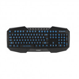 USB Wired 3 Colours Backlight Illuminated Gaming Keyboard for PC Laptop