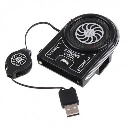 Mini Adjustable 180-degree Rotating USB Air Extracting Cooling Cooler Fan for Notebook Laptop