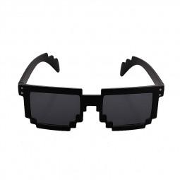 Unisex Fashion UV 400 Protection Mosaic Style Party Sunglasses - Black