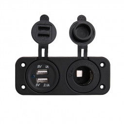 2.1A Dual USB Car Charger for Android Devices GPS Charger