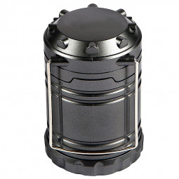30 LED Super-bright Collapsible Camping Lantern Light for Hiking Fishing - Black
