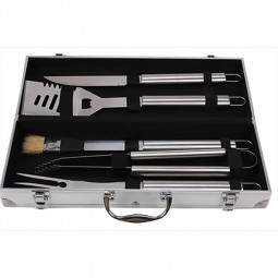 Outdoor Barbecue 5 Pcs Stainless Steel BBQ Grill Utensil Set