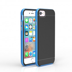 4.7inch Fashion Honeycomb Phone Back Cover Case for iPhone 7 - Blue